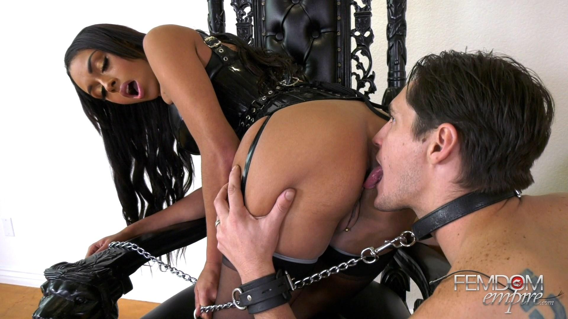 Oral Servitude Chanel Preston Ass Worship And Ass Licking Bts
