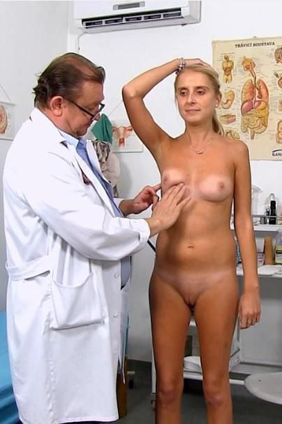 Eugenia in 22 years girls gyno exam
