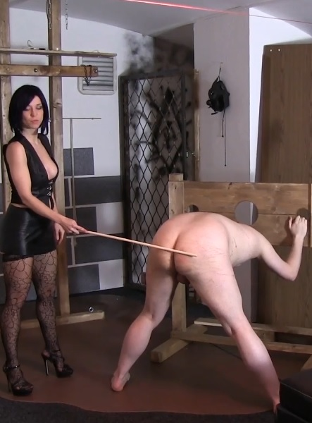Interview And Caning With Slave Radec