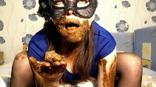 I wear a diaper and take off my mask with ScatLina Full HD 1080p - Release year December 25, 2018