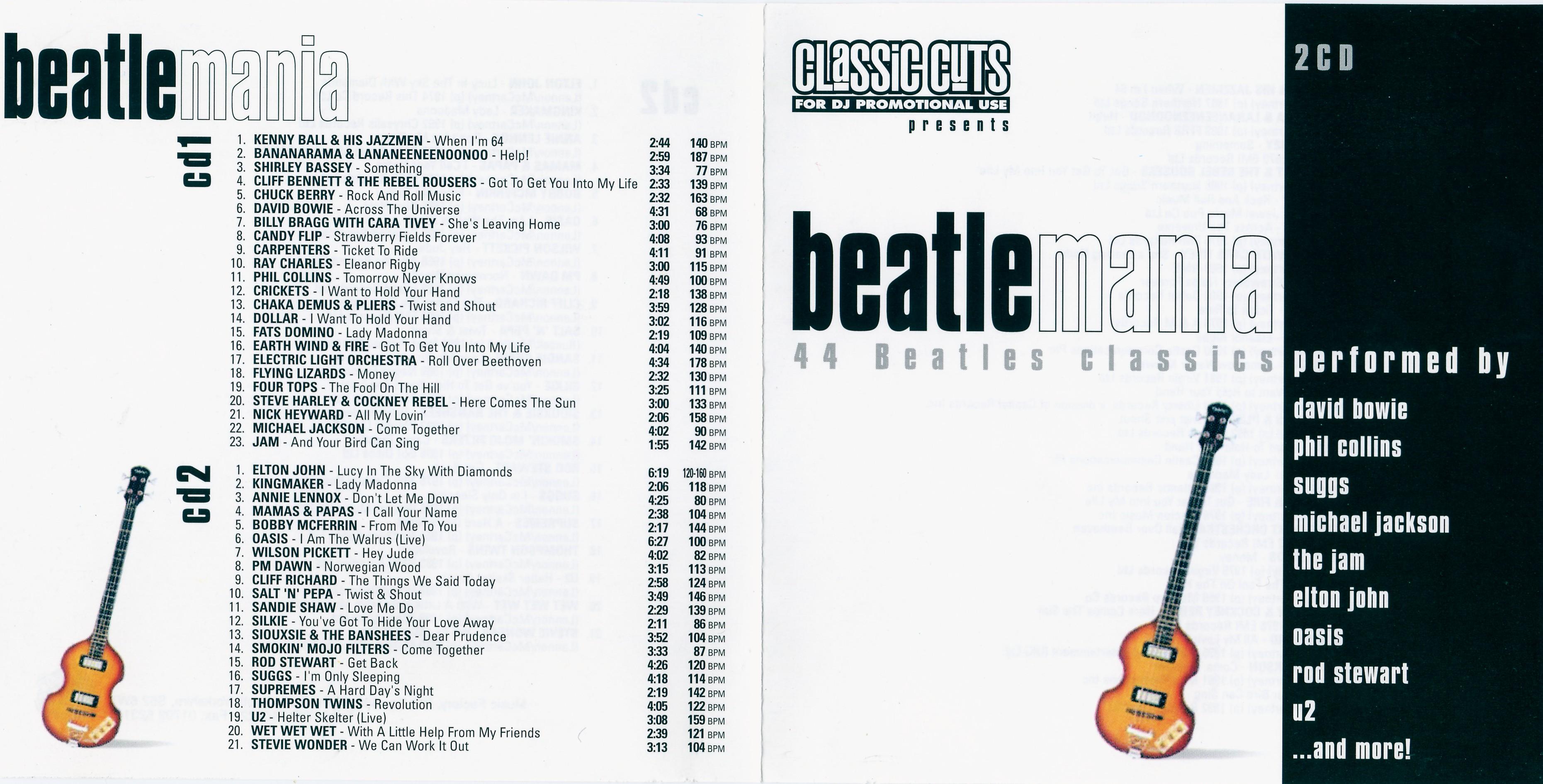 VA - Beatlemania (2001)  flac -1074 Kbps » Hawk Legend Download