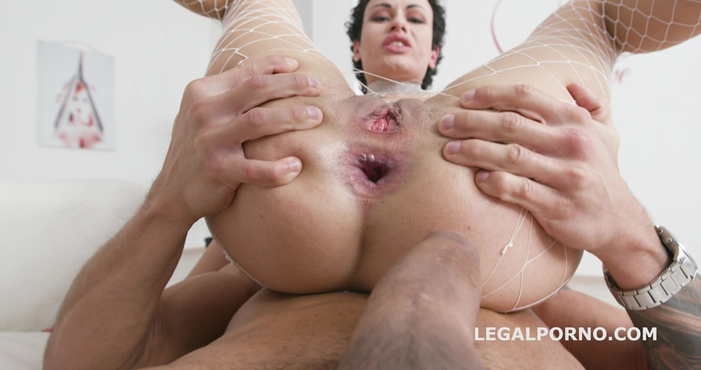 LegalPorno - Giorgio Grandi - Balls Deep Welcome to Porn, first time Anal & DP for Stacy Bloom with Gapes, Orgasm & Swallow GIO905