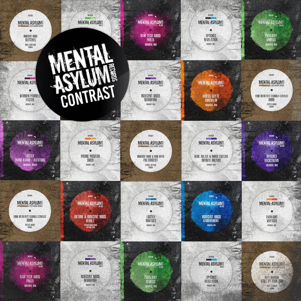 VA - Mental Asylum Contrast (2019) .mp3 -320 Kbps