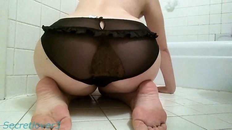 SecretLover3 - Cute feet and filled panties