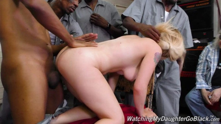 Watching My Daughter Go Black - Casey Ballerini - GangBang Big Black Cock - 20.07.2018  - 720p Free Download From pornparadise.org
