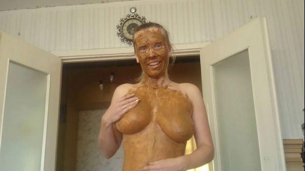 Brown wife - Fun with shit