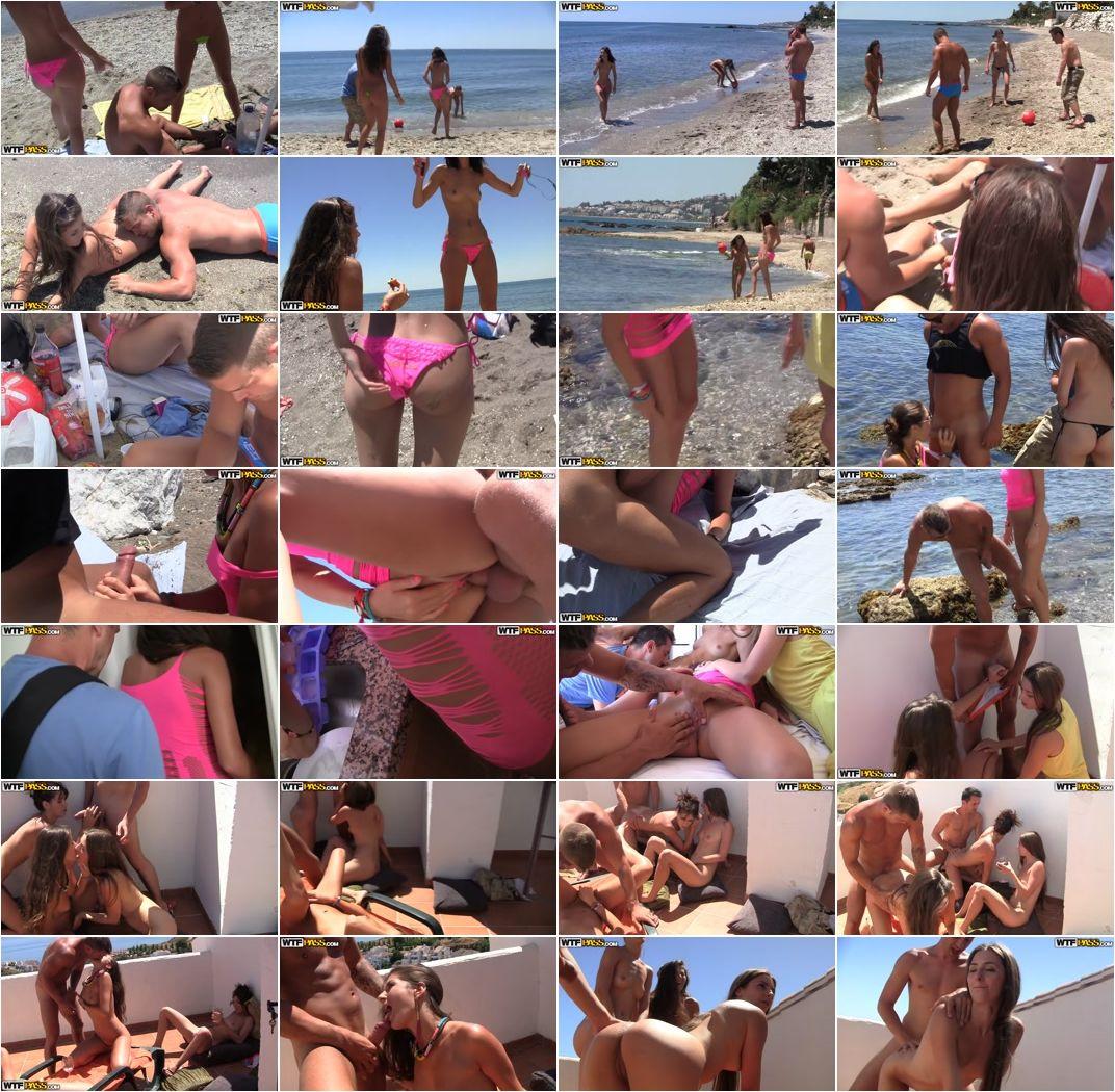 Agnessa Casting Porn agnessa, carla, leila - real sex party on the sunny beach