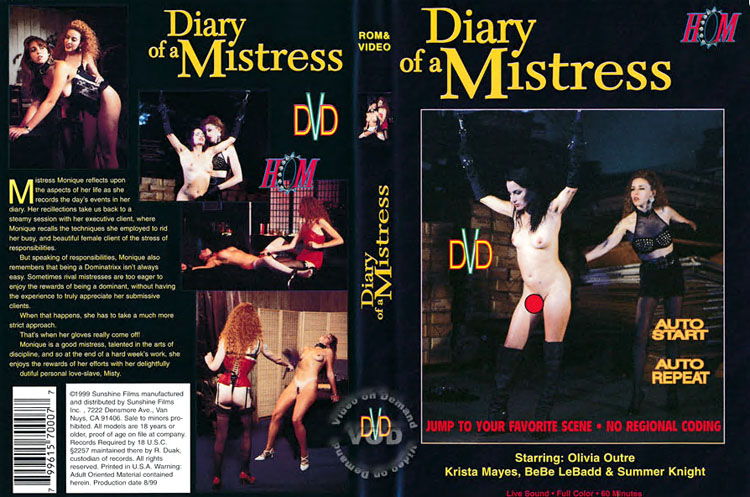Diary Of A Mistrs,