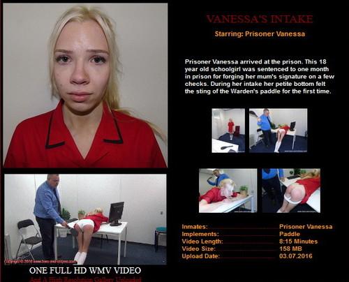 Vanessa'a Intake