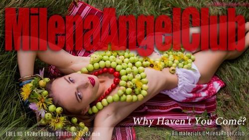 Milena Angel - Why Havent You Come (Milena D., Kate, Milenna, Sunna) / Skinny clip #4925