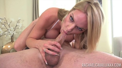 Rachael Cavalli in Suck Off [2018, Blowjob, Big Tits, Blonde, Oral, Threesome, 1080p]