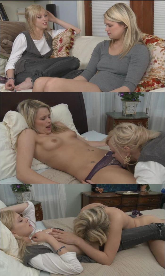 Brea Bennett lesbisk sex