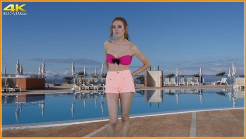 BeachJerk nude-pool-interview full hd