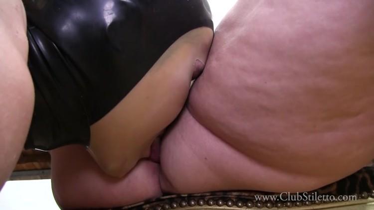 Male Slave Licking Mistress Asshole